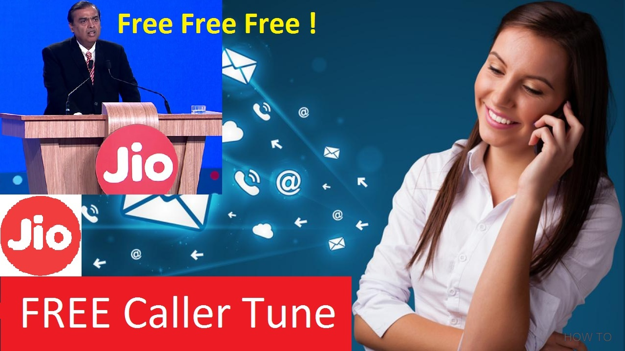 Get free Caller Tune on JIO